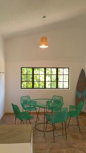 Photo for Two bedroom Apt. w/ AC and Wifi next to beach!