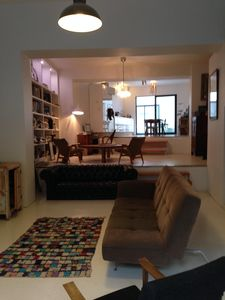 Photo for Contemporary loft 250 m2 with patio, 7 bedrooms, near Croix Rousse