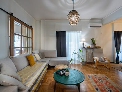 Photo for Stylish flat close to the Acropolis