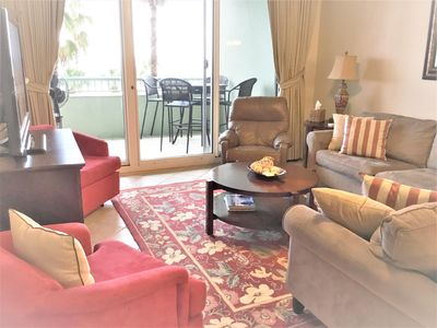 Photo for A306 Beach Front - King/3 Fulls/2 Twins/Sofa Sleeper - Pools -WIFI- Beach Club