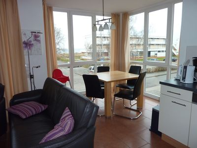 Photo for beautiful holiday flat with sea view, sauna, whirlpool and chimney