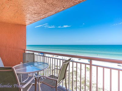 Photo for Free Perks Included!!!  ~STUNNING Gulf Front View!!~ Chateaux #402- 1 bedroom Condo.
