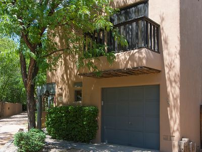 Photo for Less Than A Mile From The Plaza! Air Conditioned, Wood Burning Kiva Fireplace