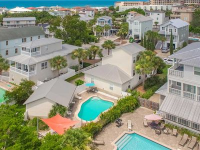 Photo for Sandy By The Sea - Blue Mountain Beach! Gulf View! Private Pool! Pet Friendly!