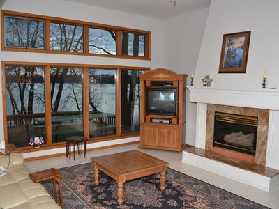 Photo for Beautiful large home on Fish Lake - Huge private yard!!