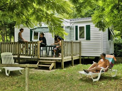 Photo for Camping Les 2 Vall��es *** - Mobil Home Jupiter 3 Rooms 4 People