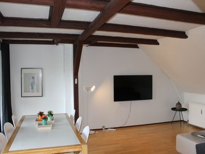Photo for Cozy 2 bedroom apartment for a large group near the city center and airport