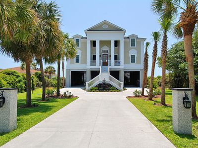 Photo for BLACK MAGIC, OCEANFRONT HOME IN LONG BAY ESTATES, 7 BEDROOM, 7.5 BATH SLEEPS 24