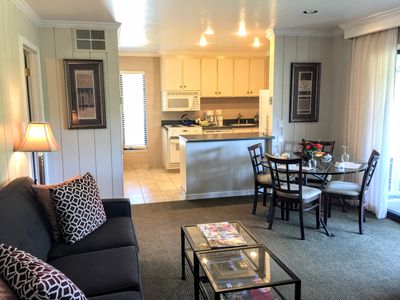 Clean and quiet unit perfect for a Wine Country getaway!