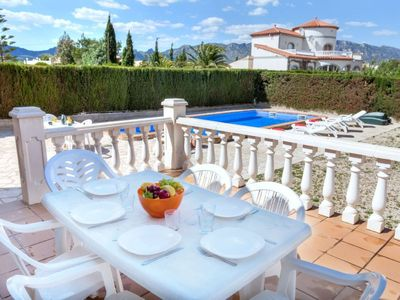 Photo for Vacation home Cardona in L'Ametlla de Mar - 12 persons, 6 bedrooms