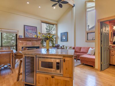 Photo for Beautifully remodeled 3 bdrm, 2 bath Northstar condo by skiing, hiking trails