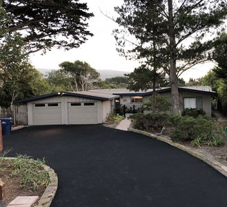 Spacious Ocean View Single Level Mid-Century Secluded Home