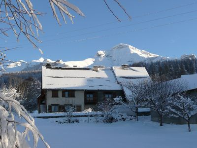 Photo for Beautiful sunny apartment in the pretty village resort alps champsaur