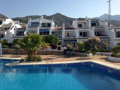 Photo for Perfect pool location in beautiful Capistrano village in Nerja