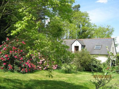 Photo for Rural Cottage By Quenecan Forest, Nr Guerledan Lake and Pontivy