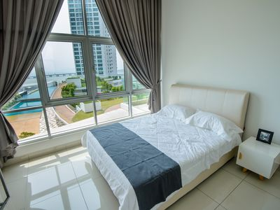 Photo for NEW Penang 2R2B seaview vacation home @ 槟城悠闲海景度假屋