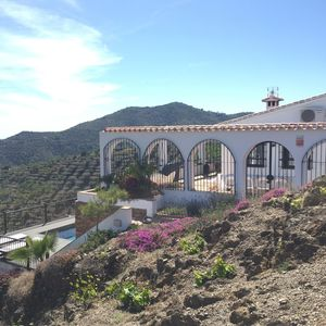 Photo for Luxury villa for 8 people with private pool, sea views Andalusia
