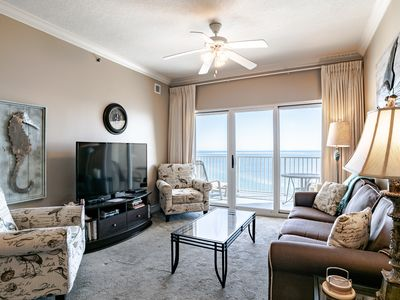 Photo for Beautifully updated and decorated gulf front 3/2! Heart of Gulf Shores!