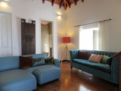 Photo for Stylish Apartment in the Historical centre of Tavira with large terrace