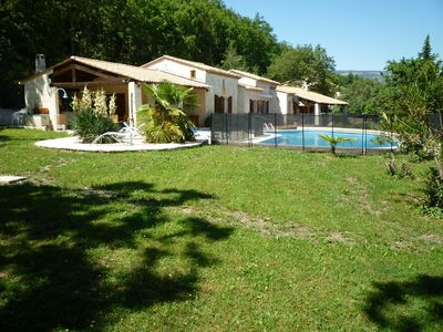 Photo for Street level villa in a private wooded estate, peace and quiet guaranteed