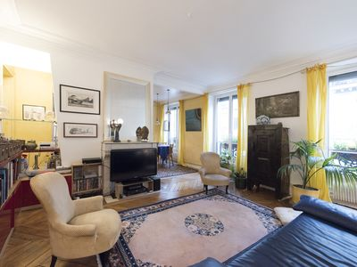 Photo for Stylish and chic flat in prime location by Place de la Republique (Veeve)