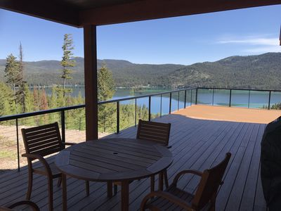 Breathtaking Views from New Mountain House  overlooking Ashley Lake