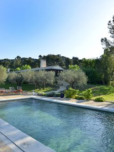 Photo for Fabulous rambling contemporary home in Les Baux, near Maussane and St Rémy