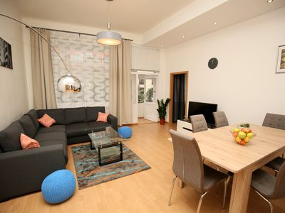 Photo for SPACIOUS&COSY 3BDR 108m2+♚KING BEDS in the city centre