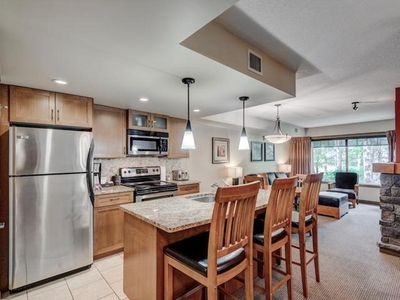 Photo for 1BR/1BTH WALKOUT CONDO COPPERSTONE RESORT - HOTTUB