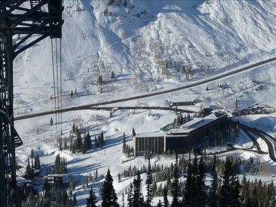 Photo for Snowbird Cliff Club at Cliff lodge -  Ski in /Ski out