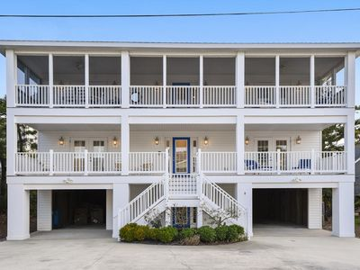 Photo for FREE DAILY ACTIVITIES INCL.!  NEW LISTING 2020!  DOG FRIENDLY!  Exceptional vacation home located just steps from the beach
