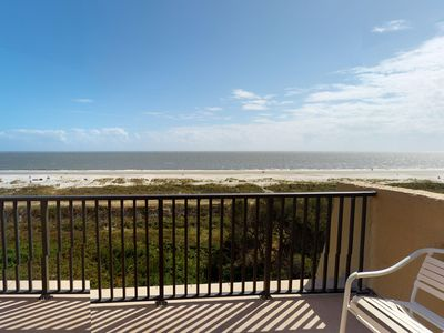 Photo for Oceanfront villa w/ shared pool, hot tub, ocean views & more - beach nearby!