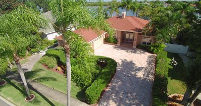 Photo for Beach, manatees, huge dock, courtyard, Audiophile Audio, Long/Wide Driveway