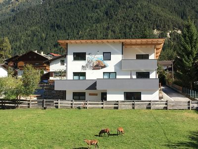 Photo for Haus Jedeler, spacious, barrier-free apartment in the heart of Stubaital