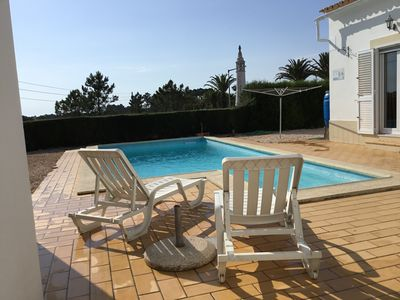 Photo for 4 Bedroom Villa with a pool, distant sea views and close to bars and restaurants