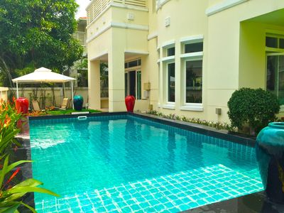 Photo for 5 BEDROOM BANGKOK LUXURY VILLA WITH PRIVATE POOL