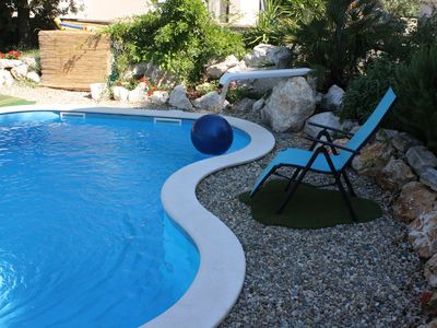 Photo for New small residence 70 m from the sea in a quiet location, with swimming pool