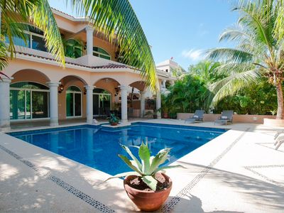 Photo for Charming Mexican Colonial 5 Bdrm Villa With A Fantastic Pool, Patio And Garden.