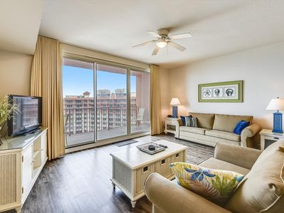 Photo for Shores of Panama 2327 - 1 Bedroom+Bunks and Sleeper Sofa. Sunset View!Free Fun!