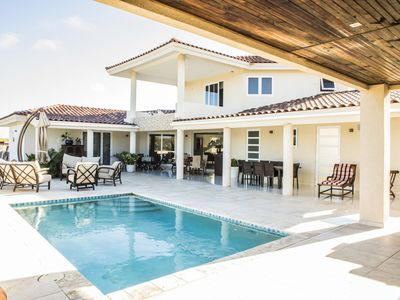 Photo for 3 BR Spacious Villa w/ Private pool and minutes from best beaches.