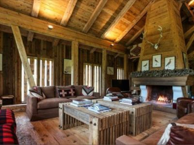 Photo for Magnificent Stand Alone Chalet with Splendid Views