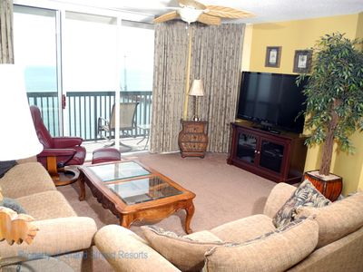 Photo for Ashworth Unit 1407! Stunning Ocean Front Condo! Book your get away today!
