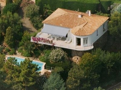 Photo for Villa with superb sea view , 6 people,  close to CANNES and SAINT TROPEZ