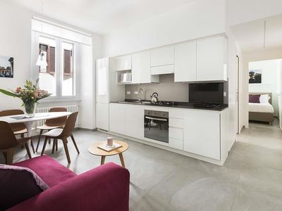 Photo for Apartment 361 m from the center of Rome with Internet, Air conditioning, Lift, Washing machine (989864)