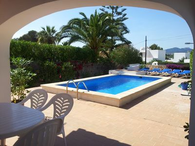 Photo for 3 bedroom family villa with private pool-Quiet location close to marina-Sleeps 6