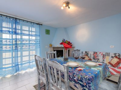 Photo for Air-Conditioned Apartment with Terrace, Garden & Wi-Fi; Pets Allowed, Street Parking Available