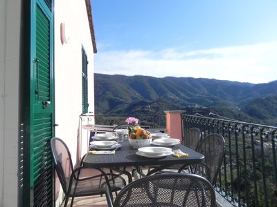 Photo for house with terrace levanto 5 lands offers MAY-June