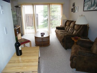 Photo for Almost SKI-IN/SKI-OUT 2 BD/2 BA Ground floor Condo