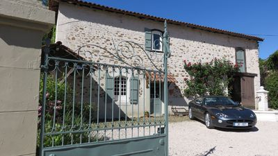 Photo for Lovely peaceful French Farmhouse cottage close to all ameneties and  mountains