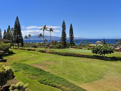 Photo for 1,512sf of Big Ocean View Ka'anapali Bliss with 2br/2ba!